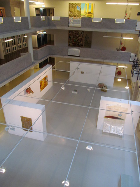 LUMC's gallery space, located on the ground floor.