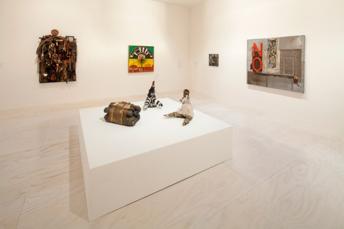 Installation view of Now Dig This! Art and Black Los Angeles 1960-1980 at MoMA PS1, © MoMA PS1. Photo by Matthew Septimus.
