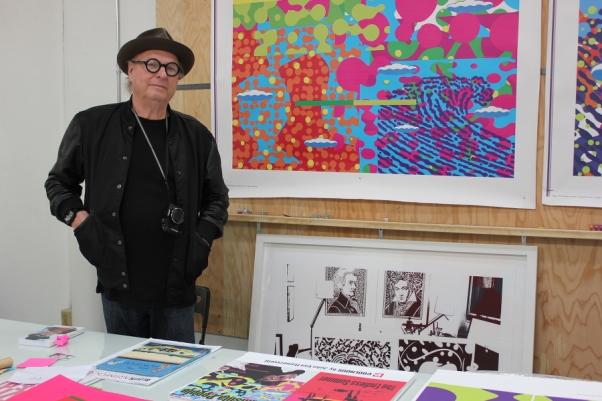 ifacontemporary John Van Hamersveld in his San Pedro Studio January 2015